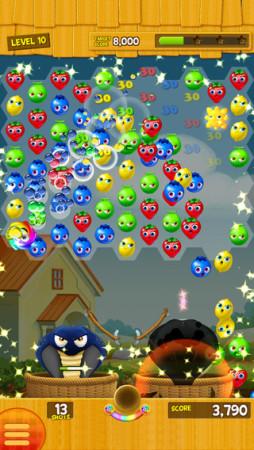 クルーズ、マーケティング用パズルシューターゲーム「Poppin' Juicy」のiOS版をオーストラリアにて先行配信