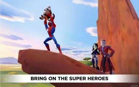 ディズニー・インタラクティブ、「DisneyInfinity2.0」のAndroid版をリリース