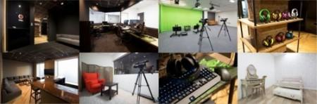 CyberZ、国内初のゲーム実況専用スタジオ「OPENREC STUDIO」を開設