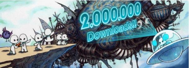 ミストウォーカーのスマホ向けRPG「TERRA BATTLE」が遂に200万ダウンロードを突破 記念にBGMをライブ音源に切り替え