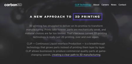 Autodesk、高速3Dプリント技術を開発するCarbon3Dに1000万ドルを投資