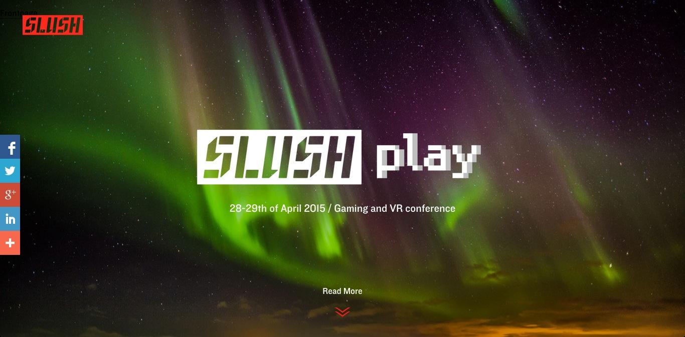 Slush Asiaだけじゃない! ゲームとVRに特化した起業イベント「Slush PLAY」もアイスランドにて開催