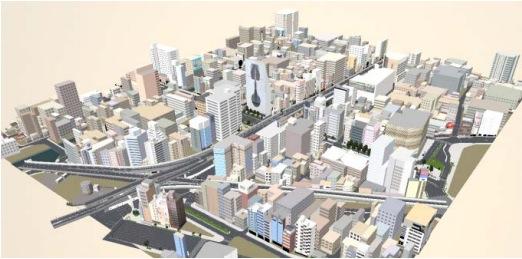 ゼンリン、大阪・福岡・札幌の街並みを再現したUnity向けの3D都市データを無償提供