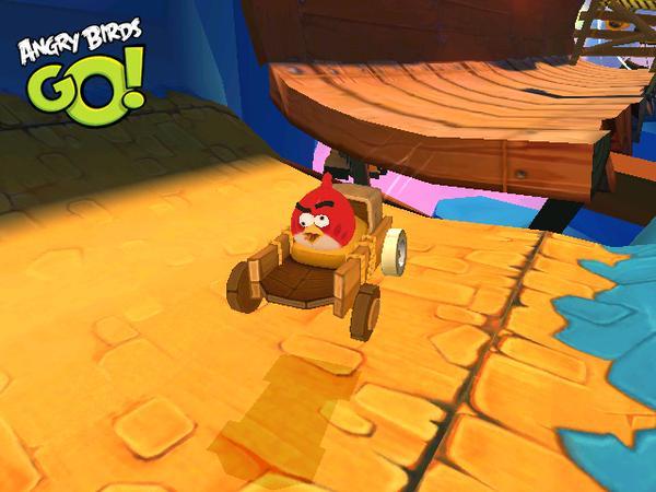 Angry Birdsシリーズのレースゲーム「Angry Birds Go!」、1億3000万ダウンロードを突破