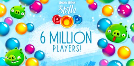 Birdsシリーズのパズルゲーム「Angry Birds Stella POP!」、600万ダウンロードを突破