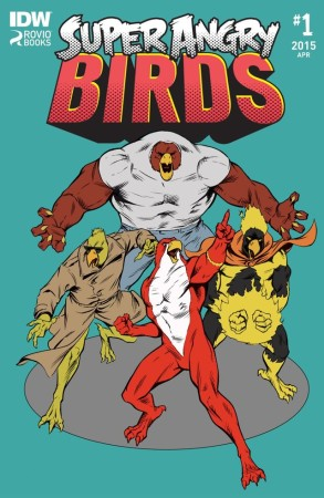 Angry Birdsがマッチョに擬人化! 鳥達がスーパーヒーローになる新コミック「Super Angry Birds」発刊
