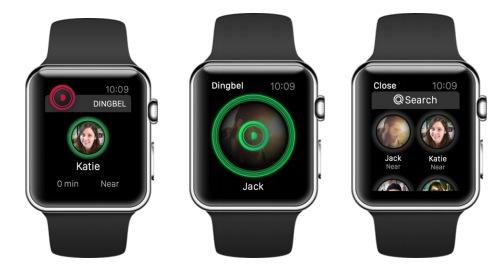 DeNA、タップとダブルタップだけで即時的に交流できるApple Watch対応アプリ「Dingbel」をリリース