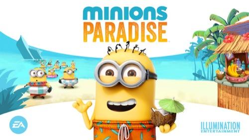 EA、映画「怪盗グルー」シリーズの新作スマホゲーム「Minions Paradise」を今夏にリリース