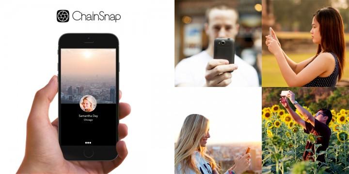 電通ブルー、世界中のスマートフォンのカメラと繋いで写真が撮れるアプリ「ChainSnap(for Android)」を先行提供