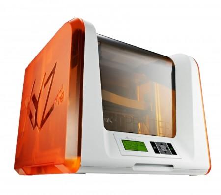 税込49,800円! XYZプリンティングジャパン、SDカードから直接出力できる3Dプリンタ「ダヴィンチ Jr. 1.0」の予約受付を開始
