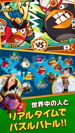 Rovio、スマホ向け新作パズルRPG「Angry Birds Fight!」を5/7にリリース 「ZOOKEEPER」のKITERETSUと共同開発