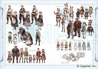 Cygames、ファンタジーRPG「グランブルーファンタジー」の設定資料集「グランブルーファンタジー GRAPHIC ARCHIVE」を発売