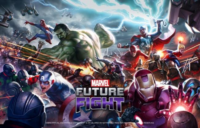 Netmarble、マーベル・ヒーローの新作モバイルアクションRPG「MARVEL Future Fight」を4/30に全世界にてリリース決定