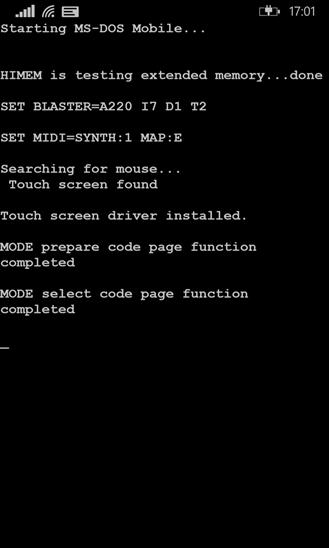 【4月1日】Microsoftの今年のネタは「MS-DOS」、シンプルなスマホ向けOS「MS-DOS Mobile」をリリース
