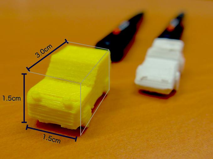 スーパーカー消しゴム(みたいなもの)を3Dプリンタで作ろう! Engadget、アーツ千代田 3331にて「モデ1GP」開催