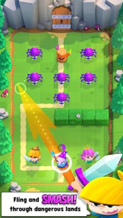 Supercell、カナダにてスマホ向けひっぱりアクションRPG「Smash Land」のテスト配信を実施