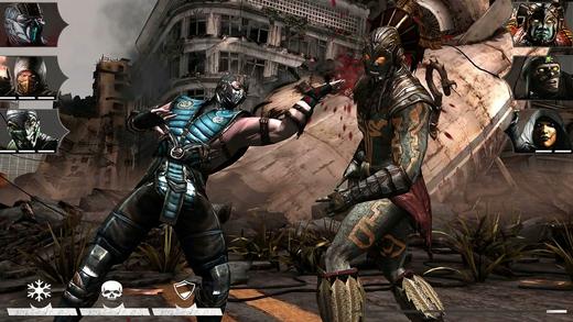 残虐格ゲー「Mortal Kombat X」のiOS版がいち早くリリース 残虐表現は相変わらず