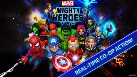 DeNAとマーベル、マーベルヒーローが集結したスマホ向けリアルタイムバトルゲーム「Marvel Mighty Heroes」をリリース