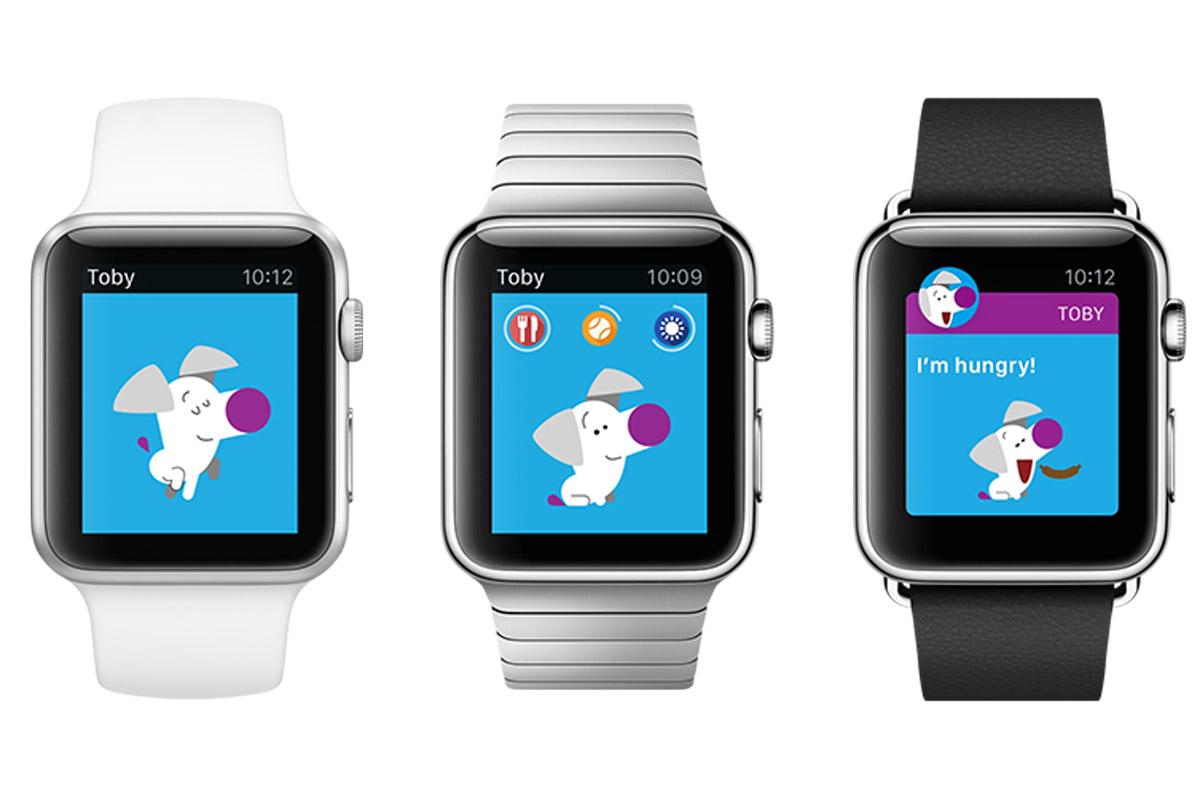 ドイツのソーシャルゲーム企業のWooga、Apple Watch対応のペット育成ゲーム「Toby」をリリース