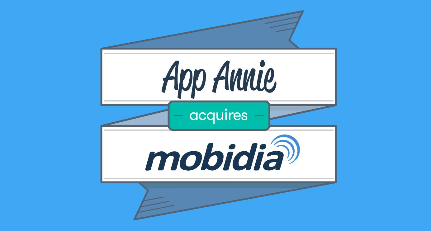 App Annie、カナダのモバイルデータ調査会社のMobidiaを買収