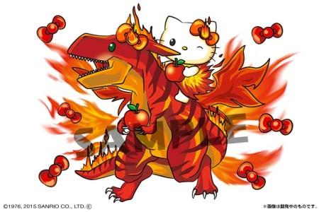ガンホー、「パズル&ドラゴンズ」にて「ハローキティワールド」のコラボを復刻開催