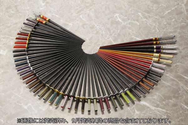 「一期一振」や「加州清光」がお箸になって新登場 壽屋、11種類の「侍箸」の仕様を一新し3ヶ月連続発売