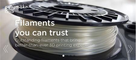 中国の3Dプリンタ用フィラメントメーカーのPolymakr、シリーズAにて300万ドルを調達
