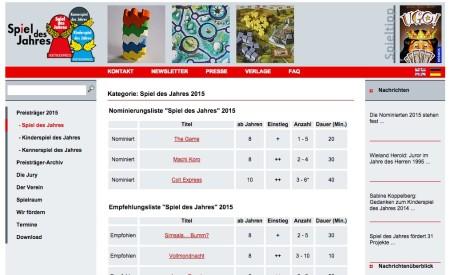 グランディングのボードゲーム「街コロ」、「ドイツ年間ゲーム大賞2015」にノミネート