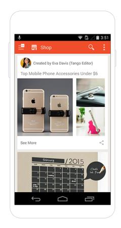 メッセージングアプリのTango、ウォルマート&アリババと提携しショッピング機能を追加