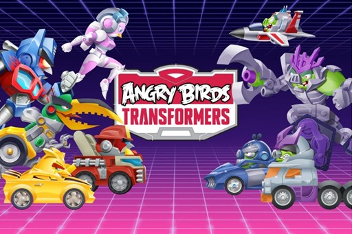 Rovio、遂にAngry Birdsとトランスフォーマーのコラボタイトル「Angry Birds Transformers」を日本でもリリース!