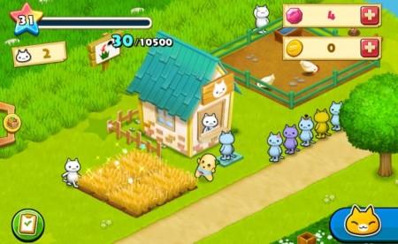 コロプラ、スマホ向け島づくりシミュレーションゲーム「ほしの島のにゃんこ」にてふなっしーとコラボ