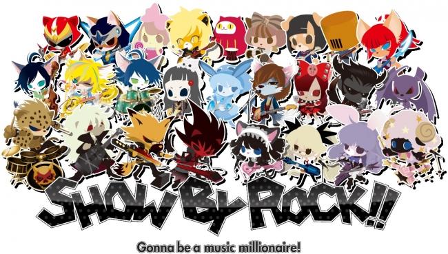 サンリオのバンドキャラ「SHOW BY ROCK!!」のスマホゲーム、100万ダウンロードを突破