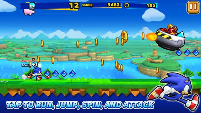 セガゲームス、カナダにてスマホ向けランニングアクション「ソニック ランナーズ」の英語版をテスト配信