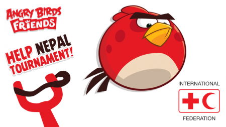 Rovio、Angry Birdsのソーシャル版「Angry Birds Friends」にてネパール大地震のチャリティプログラムを実施