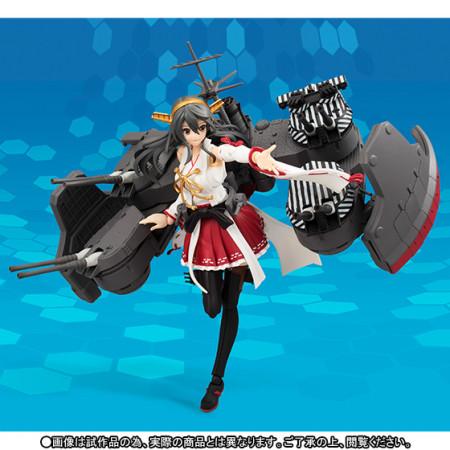 「艦これ」の「榛名改二」がアクションフィギュア化 本日より「プレミアムバンダイ」にて予約受付を開始