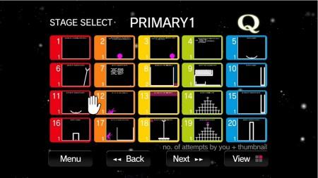 リイカのスマホ向けパズルゲーム「Q」がXbox One向けに移植 Kinectに対応