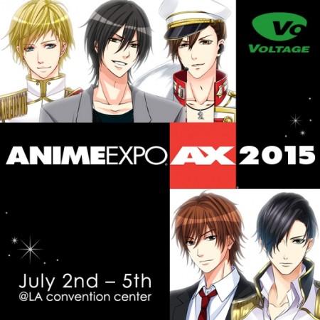 ボルテージ、米ロサンゼルスで開催される「ANIME EXPO2015」に出展