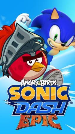 「ソニック」シリーズの海外向けスマホゲーム「Sonic Dash」、Angry BirdsシリーズのRPG「Angry Birds Epic」とコラボ