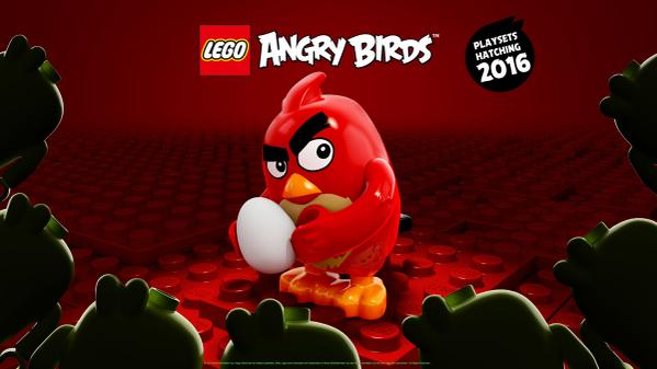 RovioとLEGO、映画版「Angry Birds」のブロックキットの第一弾画像を公開