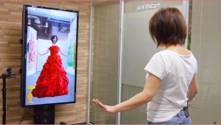 ロックス・カンパニー、ドレス・和装をリアルタイムに仮装試着できる「バーチャルファッション2.5D」を販売開始