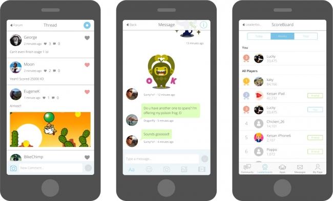 Fresvii、スマホ向けアプリに簡単にソーシャル機能を追加するSDK「AppSteroid 1.0」をリリース