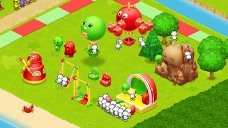 コロプラ、スマホ向け島づくりシミュレーションゲーム「ほしの島のにゃんこ」にてガチャピン・ムックとコラボ