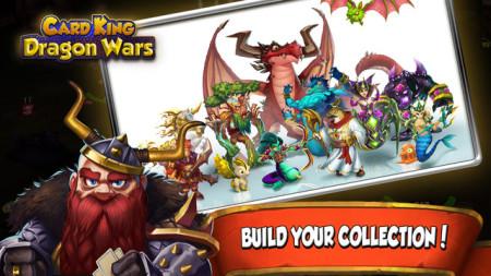 クルーズ子会社のCard King、スマホ向けトレーディングカードゲーム「Card King : Dragon Wars」のAndroid版をリリース