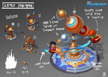 ゲームロフト、ディズニーのスマホ向け新作タイトル「ディズニー:マジック キングダムズ」を開発決定 コンセプトアートも公開