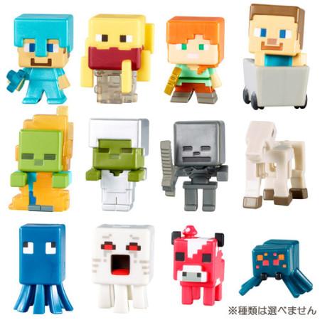 トイザらス、8/27より「Minecraft」のキャラクターフィギュアを国内先行販売