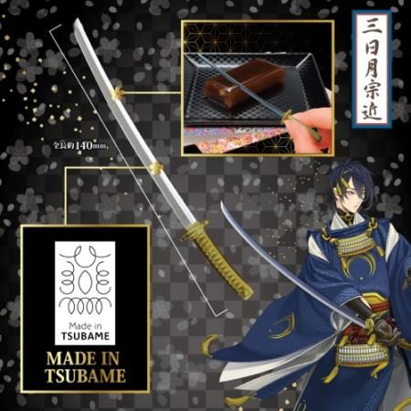 プレミアムバンダイ、「刀剣乱舞」の刀剣男士をモチーフにした羊羹を2016年2月に発売