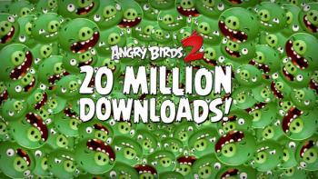 「Angry Birds」シリーズ最新作「Angry Birds 2」、リリースから1週間で2000万ダウンロードを突破