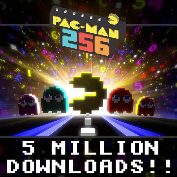 パックマンのアレンジタイトル「PAC-MAN 256」、リリースから1週間で500万ダウンロードを突破