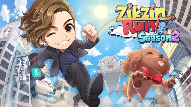 IGGYMOB、スマホ向けランニングアクションゲーム最新作「ZIKZINRUN シーズン2」の事前登録受付を開始