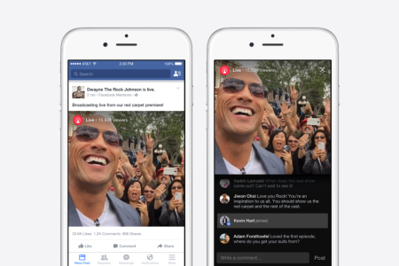 Facebookも動画のライブ配信に参入か VIPユーザー限定で動画配信機能を提供開始